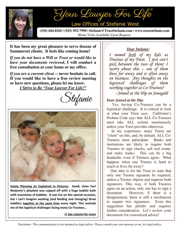 Stefanie-West-Newsletter-Oct-2016
