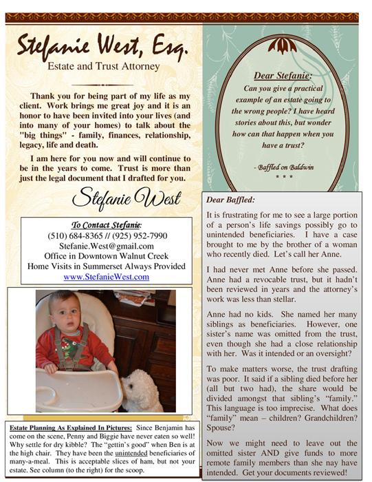 Stefanie-West-Newsletter-March-2015